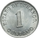 1 Centavo (Estado de Durango) – reverse