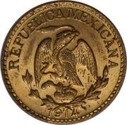 5 Centavos (Estado de Durango) – obverse