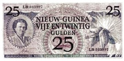 25 Gulden – obverse
