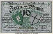 10 Pfennig (Lyck) – obverse
