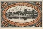 10 Pfennig (Neidenburg) – reverse