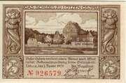 25 Pfennig (Lötzen) – reverse