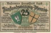 25 Pfennig (Lyck) – obverse