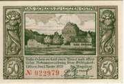 50 Pfennig (Lötzen) – reverse