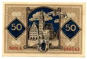 50 Pfennig (Allenstein) – reverse