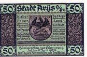 50 Pfennig (Arys) – obverse