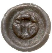 Brakteat - Mściwój II (Chojnice mint) – reverse