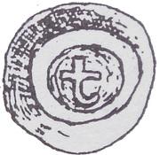 Brakteat - Mściwój II (Gdańsk mint) – obverse