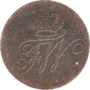 ¼ Stuber - Friedrich Wilhelm II – obverse