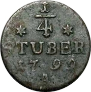 ¼ Stuber - Friedrich Wilhelm III – reverse