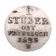 1 Stüber - George IV – reverse