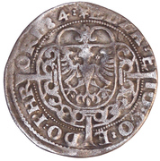 1 Flindrich - Edzard II and Johann – obverse
