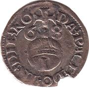 1 Witten - Edzard II. and Johann II. – reverse