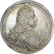Medal - Coronation of Georg Albrecht (East Friesland) – obverse