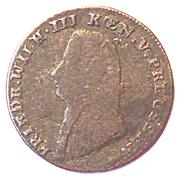 1 Stüber - Friedrich Wilhelm III – obverse