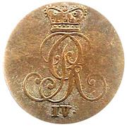 2 Stüber - George IV – obverse
