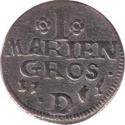 1 Mariengroschen - Friedrich II – reverse
