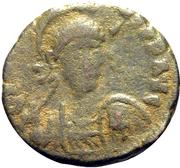 Follis - Arcadius (CONCORDIA AVGG; Antioch) – obverse