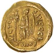 Solidus - Zeno (VICTORIA AVGGG; Constantinopolis) – reverse