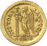 Solidus - Basiliscus (VICTORIA AVGGG; Constantinopolis) -  obverse