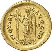 Solidus - Leo I (VICTORIA AVGGG; Constantinopolis) – reverse