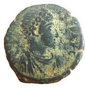 Follis - Arcadius (VIRTVS EXERCITI; Antioch) – obverse