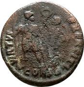 Follis - Arcadius (VIRTVS EXERCITI; Constantinopolis) – reverse