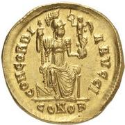 Solidus - Arcadius (CONCORDIA AVGGI) – reverse