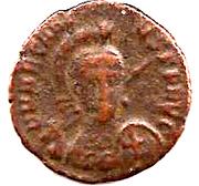 Follis - Arcadius (CONCORDIA; Constantinopolis) – obverse