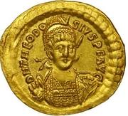 Solidus - Theodosius II – obverse