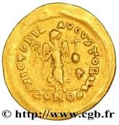 Tremissis - Theodosius II (VICTORIA AVGVSTORVM; Constantinopolis) – reverse