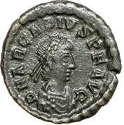 Follis - Arcadius (VICTORIA AVGGG; Siscia) – obverse