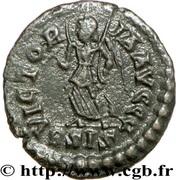 Follis - Arcadius (VICTORIA AVGGG; Siscia) – reverse