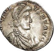 Siliqua - Arcadius (VIRTVS ROMANORVM; Treveri) – obverse