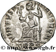 Siliqua - Arcadius (VIRTVS ROMANORVM; Treveri) – reverse
