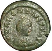 Follis - Arcadius (SALVS REIPVBLICAE; Constantinopolis) – obverse