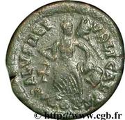 Follis - Arcadius (SALVS REIPVBLICAE; Constantinopolis) – reverse