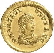 Solidus - Arcadius (CONCORDIA AVGGGG; Constantinopolis) – obverse