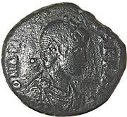 Follis - Arcadius (GLORIA ROMANORVM; Constantinopolis) – obverse