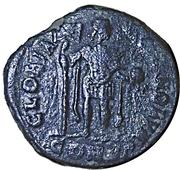Follis - Arcadius (GLORIA ROMANORVM; Constantinopolis) – reverse