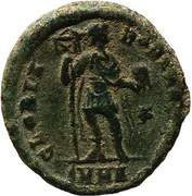 Maiorina - Arcadius (GLORIA ROMANORVM; Heraclea) – reverse