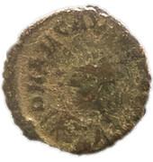 Follis - Arcadius (VOT V; Heraclea) – obverse