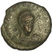 Nummus Minimus - Theodosius II (CONCORDIA AVGG) – obverse