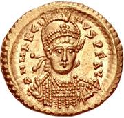 Solidus - Marcianus (VICTORIA AVGGG Z) – obverse