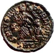 Follis - Arcadius (SALVS REIPVBLICAE; Cyzicus) – reverse