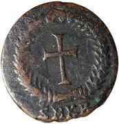 Nummus - Theodosius II (cross in wreath; Cyzicus) – reverse