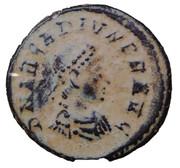Nummus - Arcadius (SALVS REIPVBLICAE; Antioch) – obverse