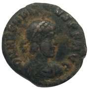 Follis - Arcadius (Cyzicus) – obverse
