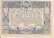 50 Heller (Ebensee) – obverse