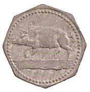5 Pfennig - Eberbach – reverse
